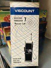 Viscount Solid State 7 Transceiver New Dead Stock CB