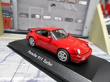 PORSCHE 911 964 Turbo 1990 rot red Minichamps Maxichamps 1:43