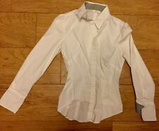 Ladies Fitted White Shirt M&S Collection Size 8