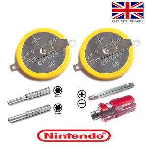 CR2025 Cartridge Game Save Battery Kit: Nintendo Game Boy/Color NES SNES N64