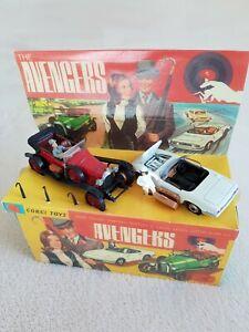 Avengers Original Corgi Gift Set Repo Box