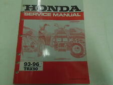 1993 1994 1995 1996 Honda TRX90 Service Shop Repair Manual Factory OEM Book Used