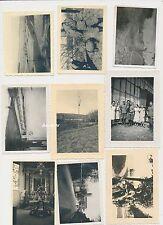 Foto Konvolut Wehrmacht Soldaten  9 Stück 2.WK gemischt (d458)
