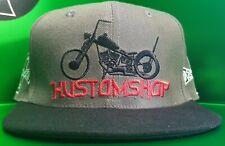 Motorcycle hat, bobber, chopper, custom, kustom, Harley Davidson, v rod.