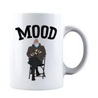 MOOD Coffee Mug Feel the Bern, Bernie Sanders Inauguration Day Bernie Mittens