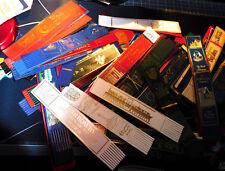 5 Leather Bookmarks Collection Bundle School Teacher Mix Random Job lot Bulk