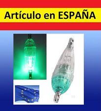 Mini luz BLANCA led PESCA boya flotante luces waterproof sumergible caña boya