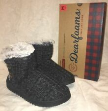 Dearfoams Medium (B, M) Solid 8 Slippers for Women