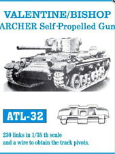 Friulmodel 1/35 British Valentine/Bishop SPG Metal Tracks (230 links) ATL-32