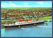SS UNITED STATES Docking at Bremerhaven, Germany
