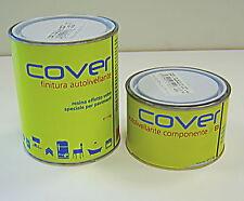 Cover - pittura bicomponente di finitura autolivellante effetto vetro