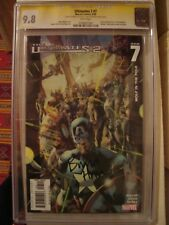 Ultimates 2 #7 CGC 9.8 NM+/MINT Signature Series Bryan Hitch Avengers Cover