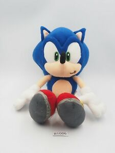 "Sonic X The Hedgehog B1006 SEGA 2003 Plush 9"" Stuffed Toy Doll Japan"