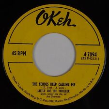 LITTLE JOE THE THRILLER: The Echoes Keep Calling Me USA OKEH R&B Soul 45