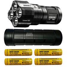 Combo: Nitecore TM28 Flashlight w/NBP68HD Battery Pack +4x IMR 3100mAh Batteries