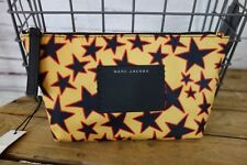 NEW Marc Jacobs B.Y.O.T Trapezoid Cosmetic Bag Aurora Red Multi $100