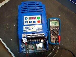 Lenze AC Tech SMVector ESV552N04TXB 400V 480V 3 phase 7.5HP 5.5kW VFD