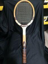 Vintage 1960 Spalding Ashley Cooper Professional Wooden Tennis Racket