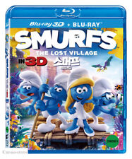Smurfs : The Lost Village (Blu-ray) 2Disc : 3D+2D Combo / Region ALL