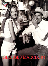 1990 Guess Jeans Lance Staedler Georges Marciano western cowgirl MAGAZINE AD
