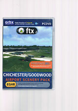 Flight Simulator X/p3d orbx/FTX Chichester/Goodwood Airport scenery Pack
