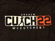 Shirt Cutch22 San Francisco SF Giants Andrew McCutchen SGA 4/4/18 Men's L New