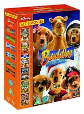 BUDDIES 6 MOVIE BOX SET (AIR  SNOW  SPACE  SANTA  SPOOKY  TR - DVD - REGION 2 UK