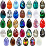SWAROVSKI ELEMENTS 6106 Pear Shape Teardrop Crystal Pendants More Colors & Sizes