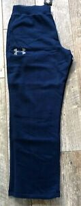 New Under Armour Fitted Navy Sweatpant Coldgear - 1248351 Sizes S to 4XL