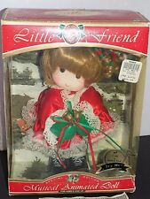 Adorable Memories Little Friend Special Addition Christmas Wind Up 1992
