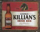 George KILLIAN'S Irish Red Beer Bar Tavern Pub Tin Metal Sign