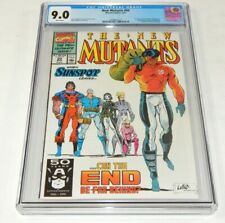 New Mutants # 99 CGC 9.0 VF/NM Marvel Comics 1991 1st app X-Force and Feral