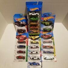 Hot Wheels Lot of 20 Diff Exotic Lamborghini Porsche McLaren Pagani Aston AMG GT