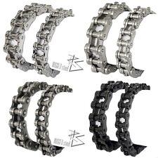 Armband FAHRRADKETTE Motorradkette Armkette Edelstahl Biker Gliederarmband 23 cm