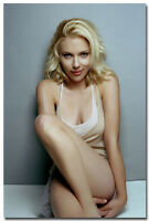 Scarlett Johansson Sexy Hot Movie Girl Art Silk Poster Print 13x20 24x36 inch 06