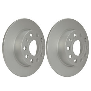 Rear Brake Discs 255mm Audi A3 VW Golf Skoda Octavia 1K0615601AB 1K0615601K