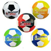 Western Star Premium Official Full Size 5 Soccer Ball PVC Assorted