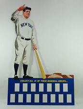 1972 Kellogg's All Time Baseball Greats Babe Ruth Store Display w/o Cards DA3345