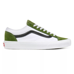 Vans Retro Sport Style 36 Men's Sizes 8- 11 Skate Shoes Calla Green VN0A3DZ3WZ6
