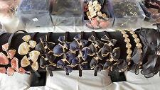 Joblot 12pcs Mixed color silk Flower Metal Headband wholesale lot A