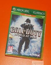 Call of duty: world at war Xbox 360 neuf et scellé