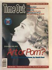 Madonna Vintage Time Out Magazine 1992 October Original Good Condition