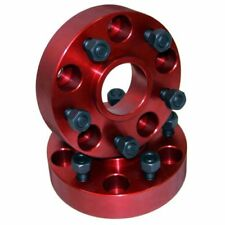 """Alloy 11302 1.25"""" Thick Wheel Spacers Pair 5 x 5.5 Bolt Circle for 41-86 Willys"""