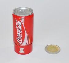 Coca-Cola Coppa Lattina Scacchi Figura Torre Coke Lattina Presa rosso