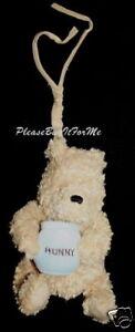 Classic Winnie The Pooh Musical Crib Toy Plush Hunny