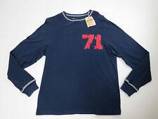 Shirt Mens Cremieux Premium Denim Mens Dark Navy Distressed 71 Shirt XX-Large