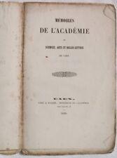 1850 ACADEMIE DE SCIENCES CAEN DE LA LONDE EVREMOND