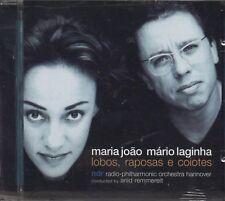 MARIA JOAO MARIO LAGINHA Lobos raposas CD 1999 SEALED