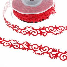 SekleBo® Selbstklebende Ornamentbordüre - Rot - 20 mm breit - ca.9,3 m Rolle