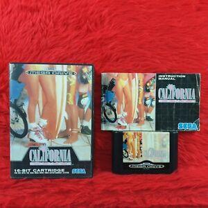 Sega Mega Drive CALIFORNIA GAMES Boxed & Complete PAL UK Version